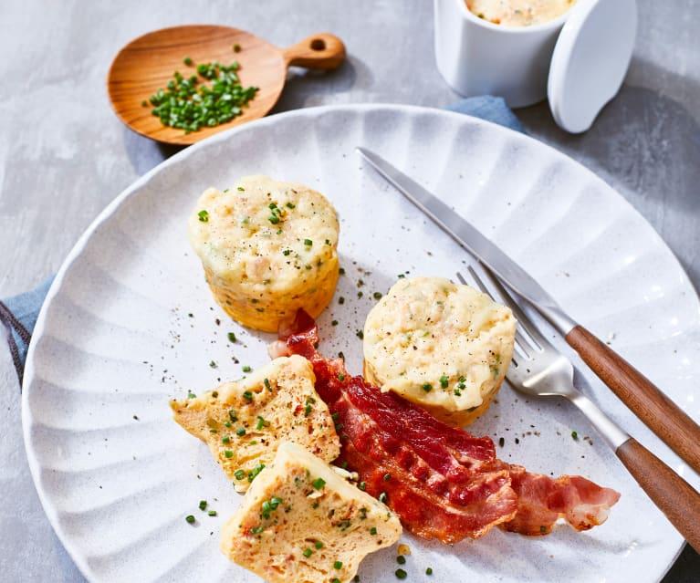 Rührei-Muffins