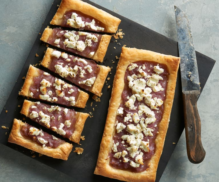 Caramelized Onion and Goat Cheese Tarts