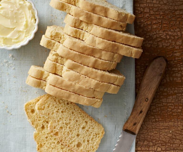 Chléb z rýžové mouky (bez lepku)
