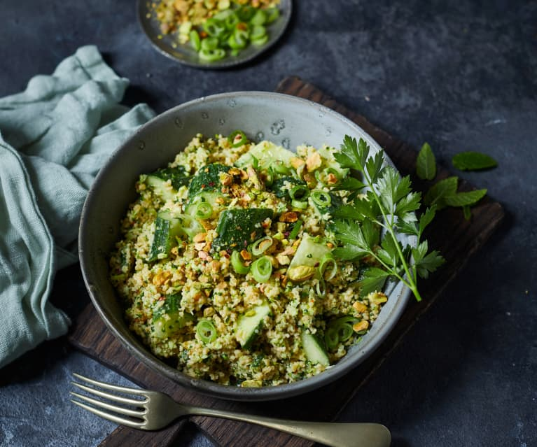 Veganer Brokkoli-Couscous-Salat