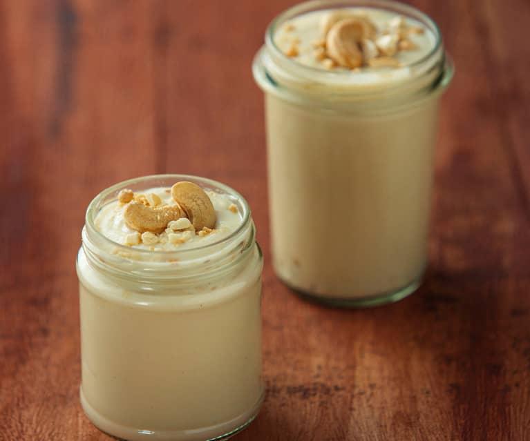 Yogurt di anacardi alla vaniglia (vegan)