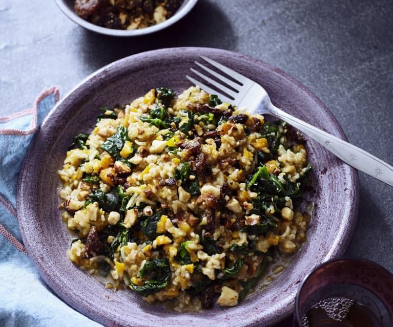Gemüse-Gewürz-Reis