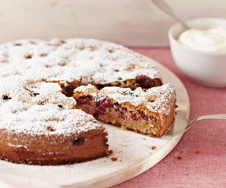 Mandel-Kirsch-Kuchen
