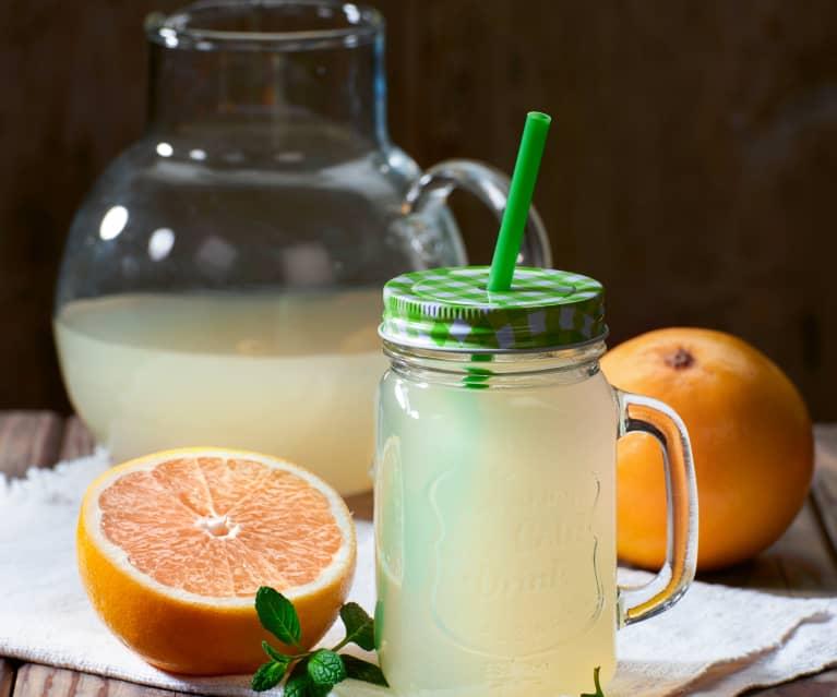 Grapefruit-Minze-Drink