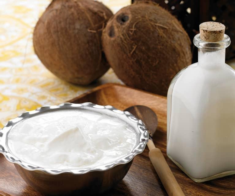 Yaourt à la noix de coco