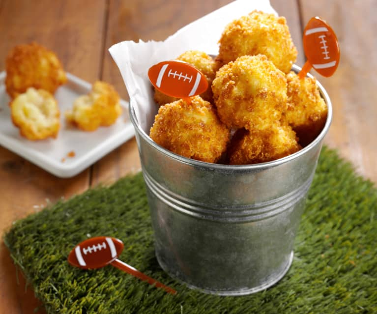 Mac and Cheese Fritters
