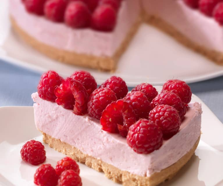 Cheesecake de frambuesas