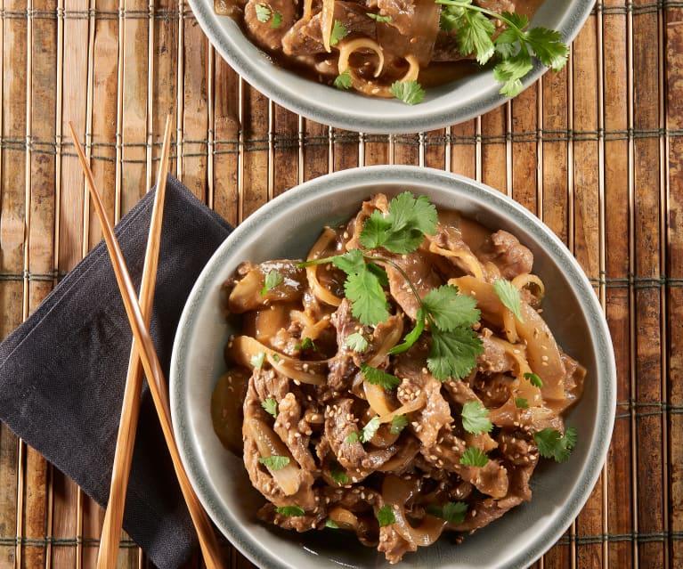 Korean Beef Sauté