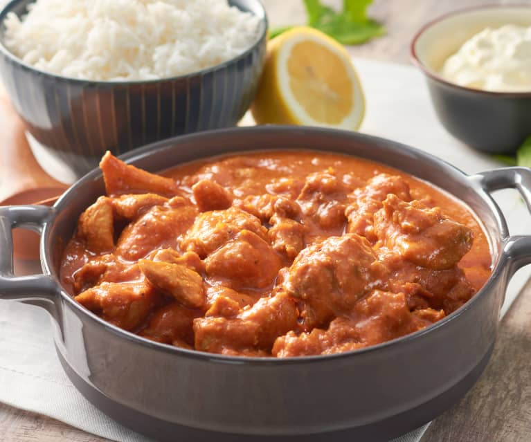 Curry cremoso de pollo (Butter chicken - India)