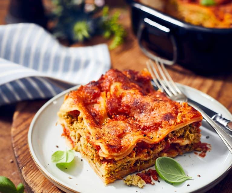 Käse-Brokkoli-Lasagne