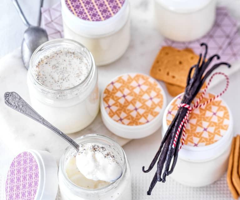 Yogur de vainilla en Varoma