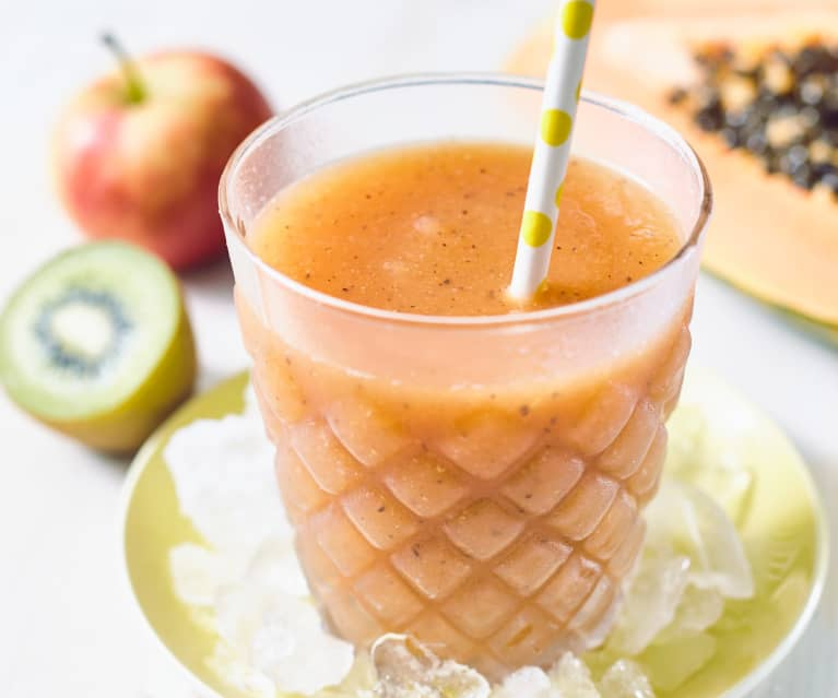 Papaya-Kiwi-Smoothie