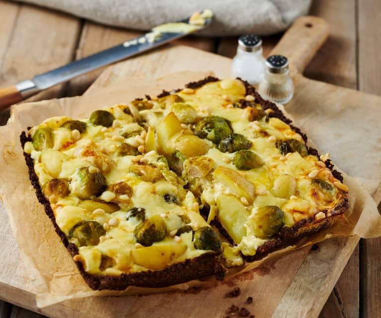 Kartoffel-Rosenkohl-Quiche