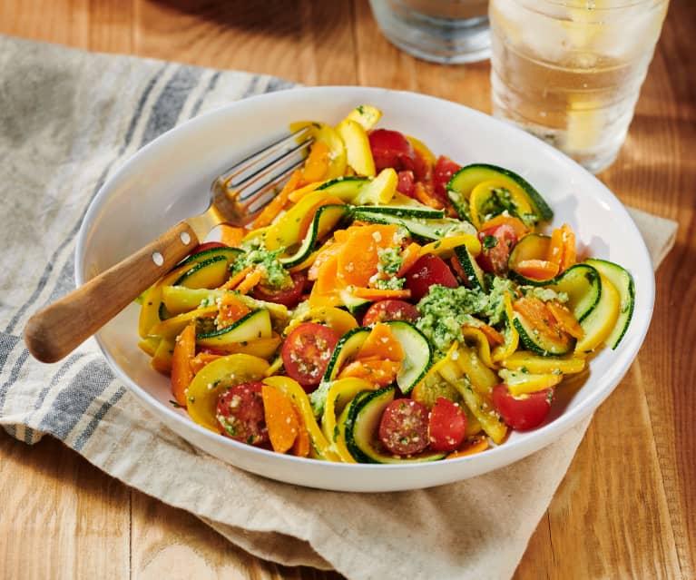 Pesto-Gemüse-Salat