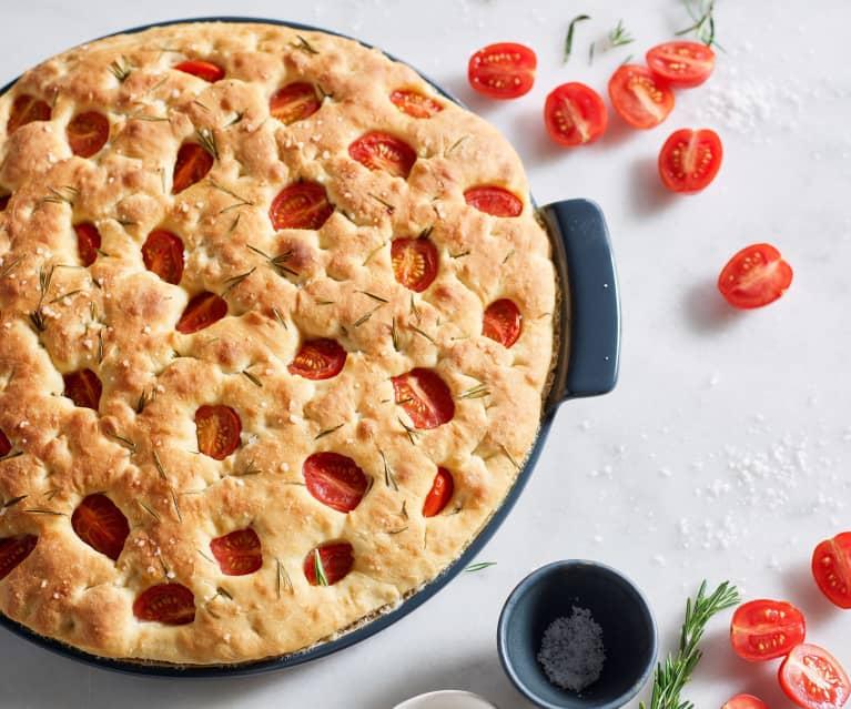 Dinkel-Tomaten-Focaccia