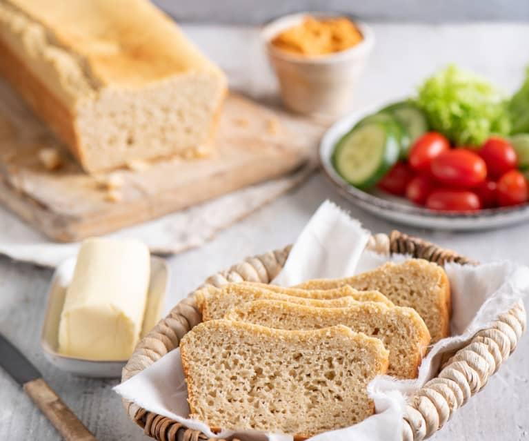 Bezglutenowy chleb ryżowy z kaszą gryczaną