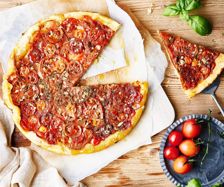 Tarta tatin de tomates