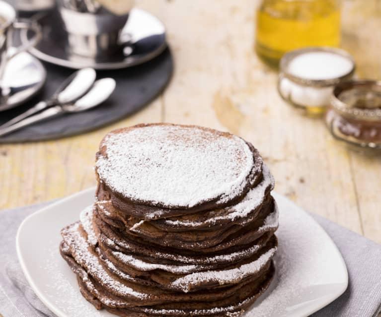 Pancakes banana e cioccolato