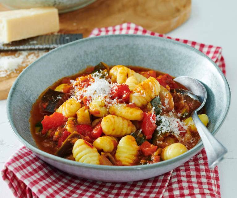Gnocchi mit mediterranem Gemüse