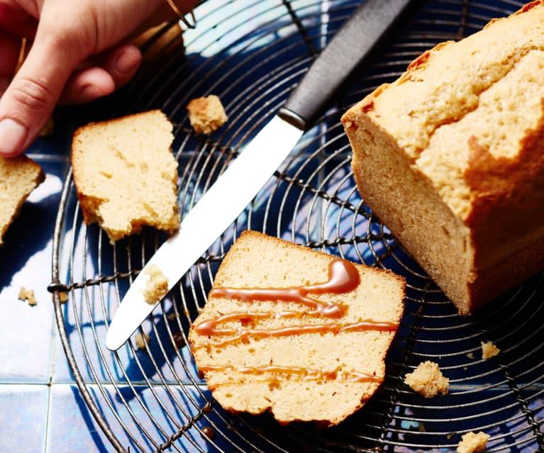 Cake vanille-caramel au beurre salé