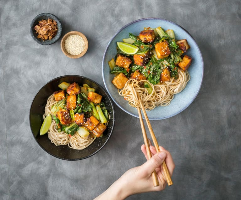 Soba noodle mee goreng