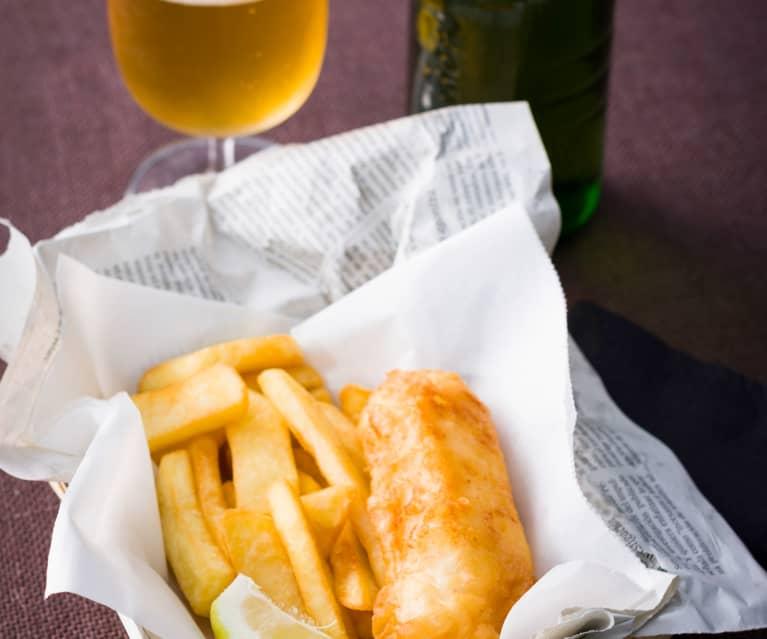 Fish and chips (Pescado frito a la inglesa)