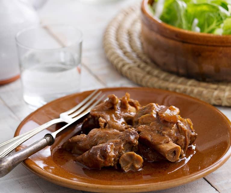 Manitas De Cerdo Guisadas En Salsa Cocción Lenta Cookidoo The Official Thermomix Recipe Platform