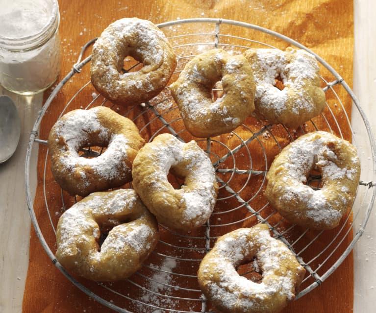 Rosquillas marroquíes (sfenj)
