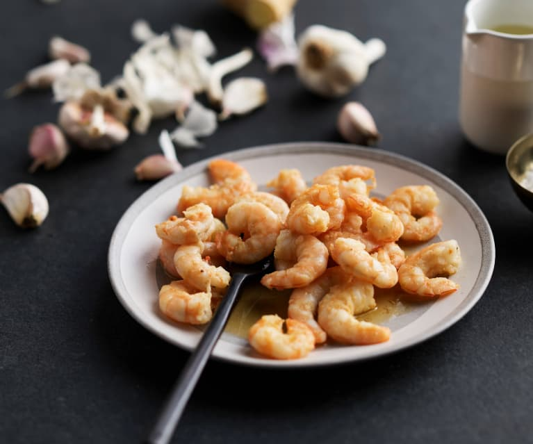 Sautéing Shrimp