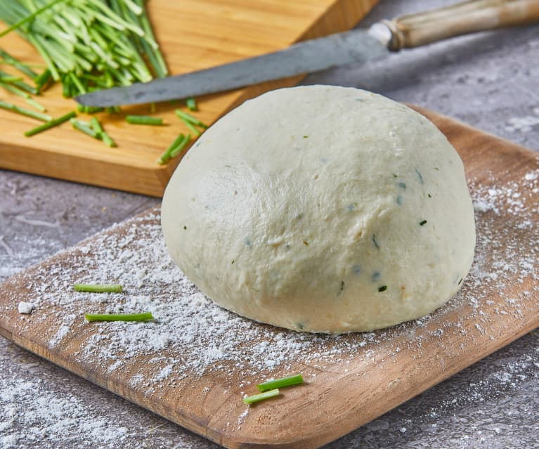 Sour Cream and Chives Pizza Dough