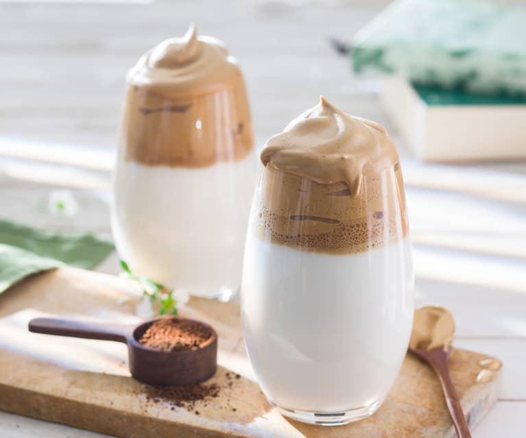 Espuma de café soluble (Café Dalgona)