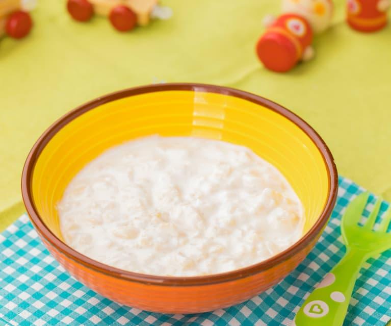 Merenda yogurt e mela