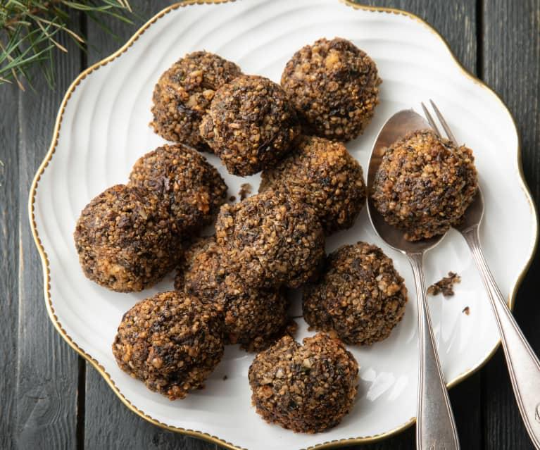 Gluten-free Mushroom Christmas Stuffing