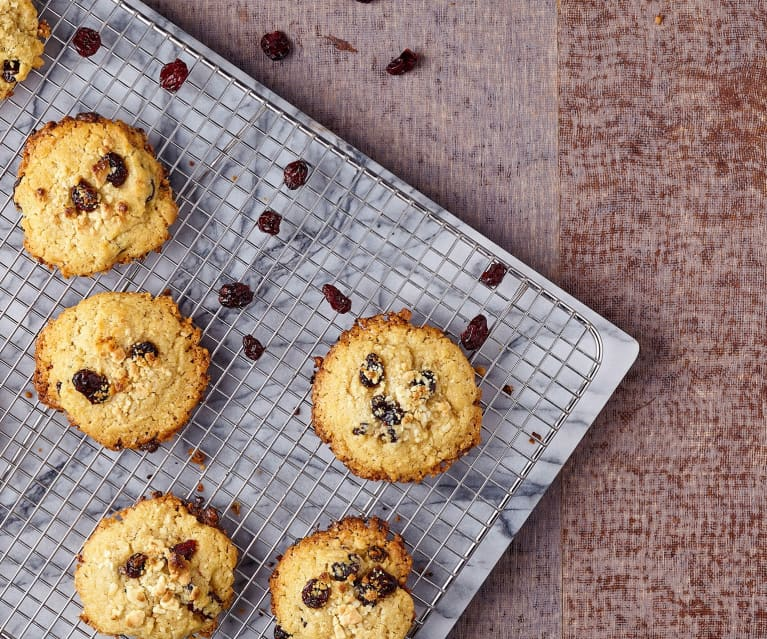 Ricetta Cookies Cioccolato Bianco E Mirtilli.Cookies Al Cioccolato E Mirtilli Rossi Cookidoo La Nostra Piattaforma Ufficiale Di Ricette Per Bimby