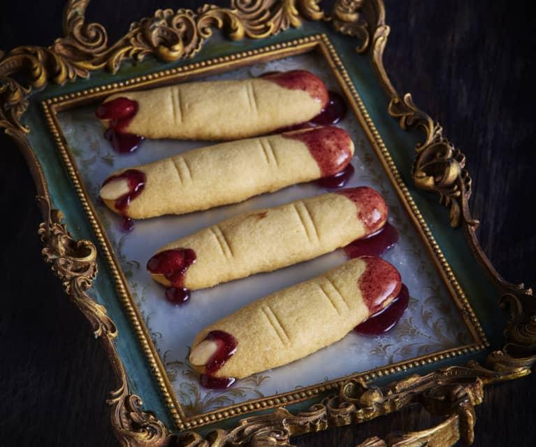 Krvavé sušenkové prsty