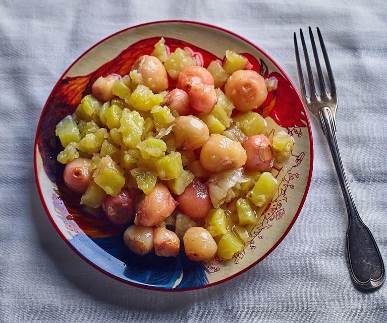 Lampascioni e patate