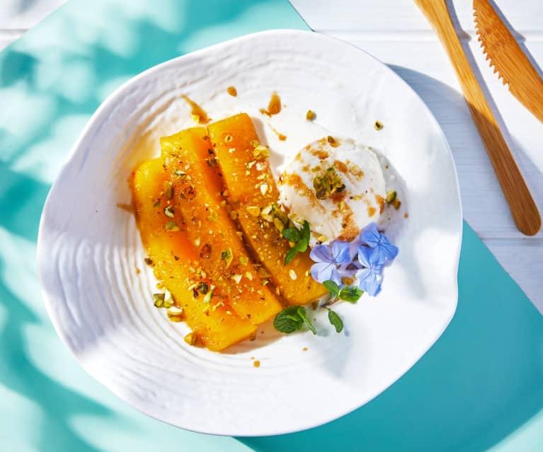 Caramel Sous-Vide Pineapple