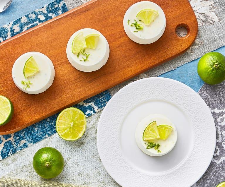 Semifreddo al lime (senza lattosio)