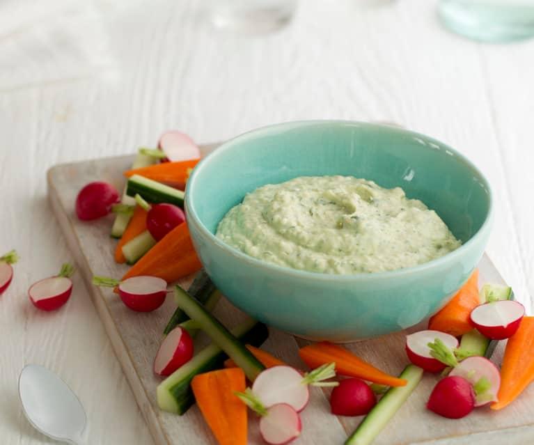 Salsa fagioli e feta