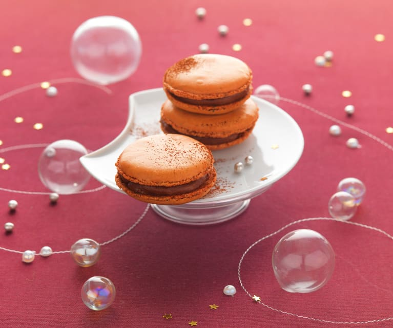 Menu 1 - Le macaron caramel