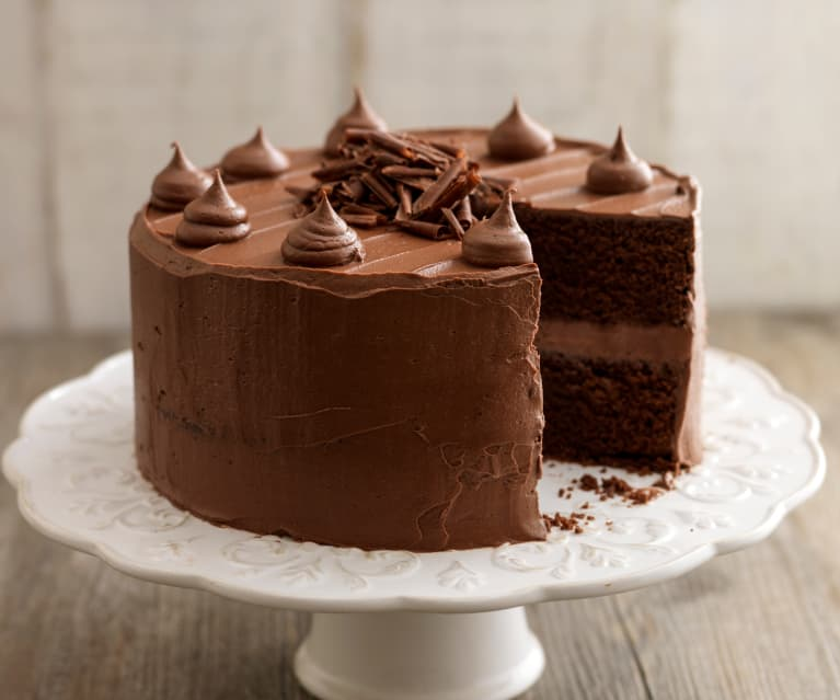 Chocolade toffee cake