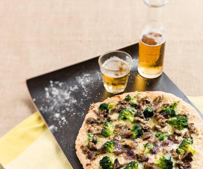 Piza vegetariana