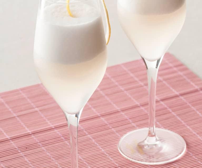 Sorbete de vino espumoso y vodka