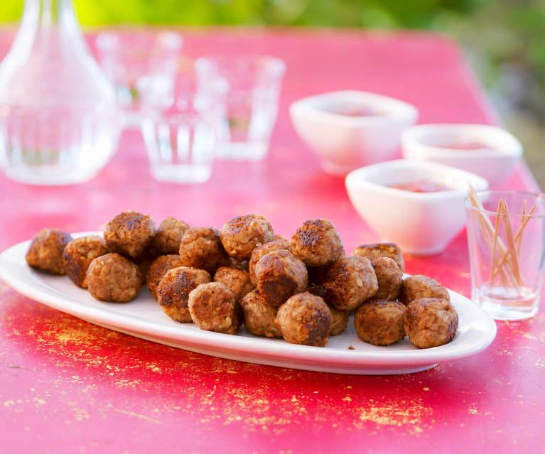 Spanische Tapa-Bällchen mit Datteln
