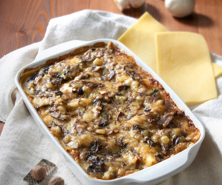 Ricetta Lasagne Ai Funghi.Lasagne Ai Funghi Senza Glutine Cookidoo The Official Thermomix Recipe Platform