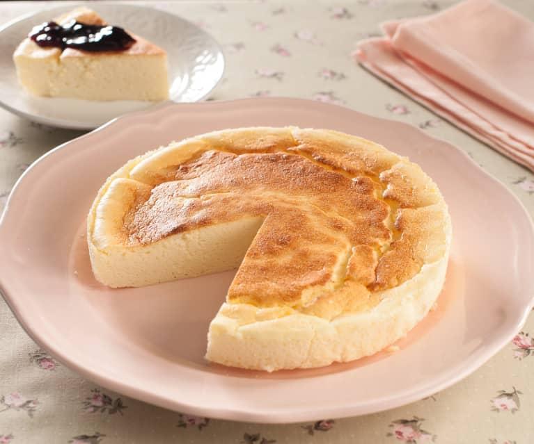 Tarta de queso japonesa
