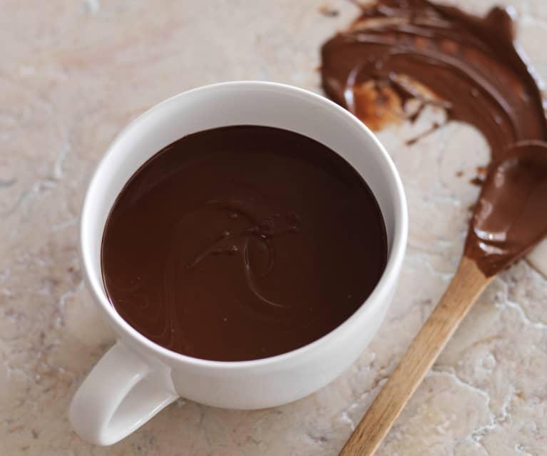 Temperar chocolate