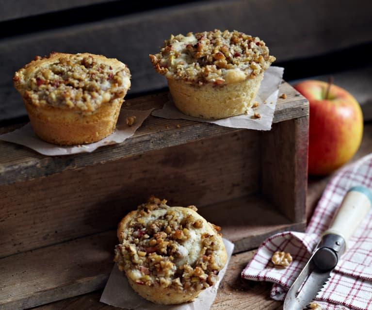 Apfel-Walnuss-Muffins