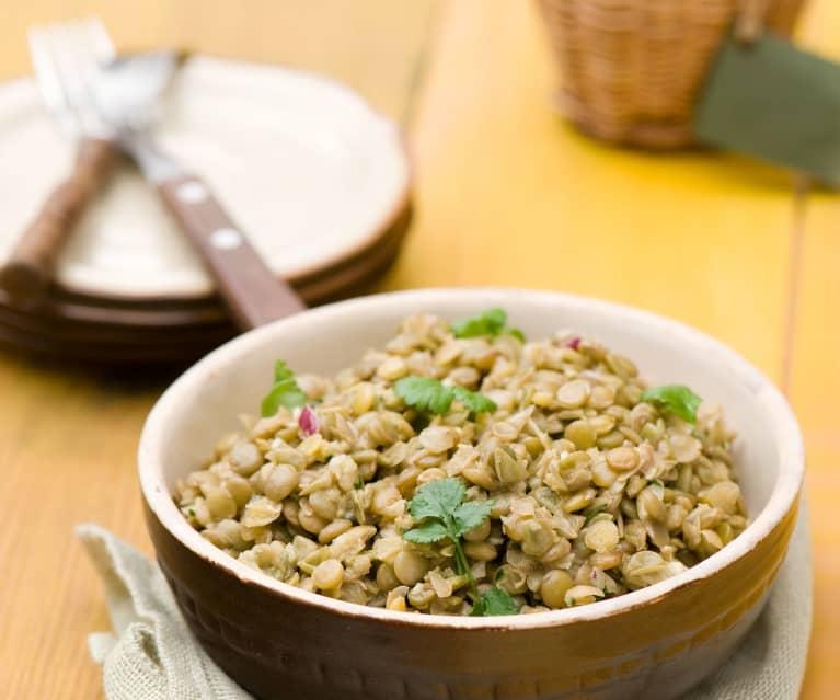 Cookidoo Salatka Z Zielonej Soczewicy