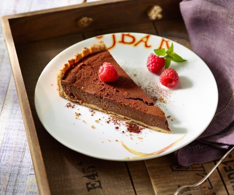 Chocolate Cheesecake mit Erdnusscreme